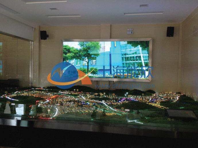 数字投影沙盘,多媒体沙盘模型控制