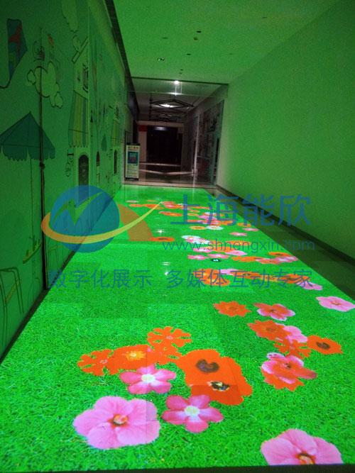 互动投影 地面互动 墙面互动
