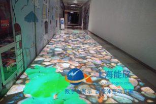 上海闵行绚荟城互动投影走廊&雷达互动墙