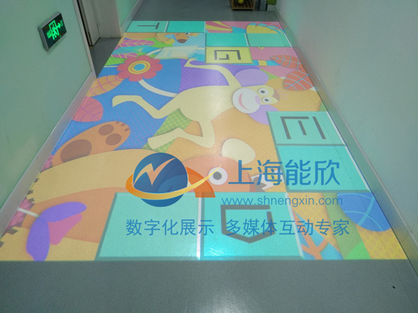 尚鸿幼儿园互动投影3