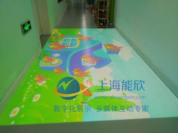 尚鸿幼儿园互动投影4