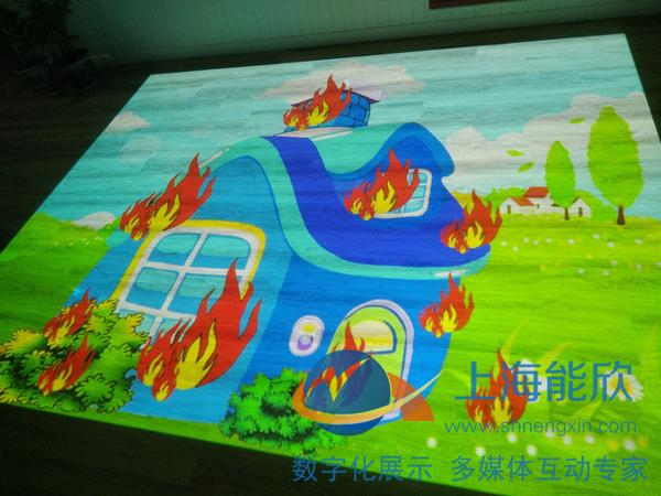 秀涓幼儿园互动投影
